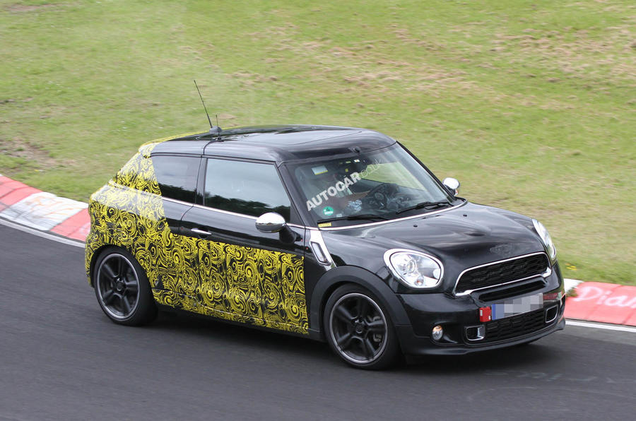 Mini Countryman Coupé To Be Called Paceman Autocar