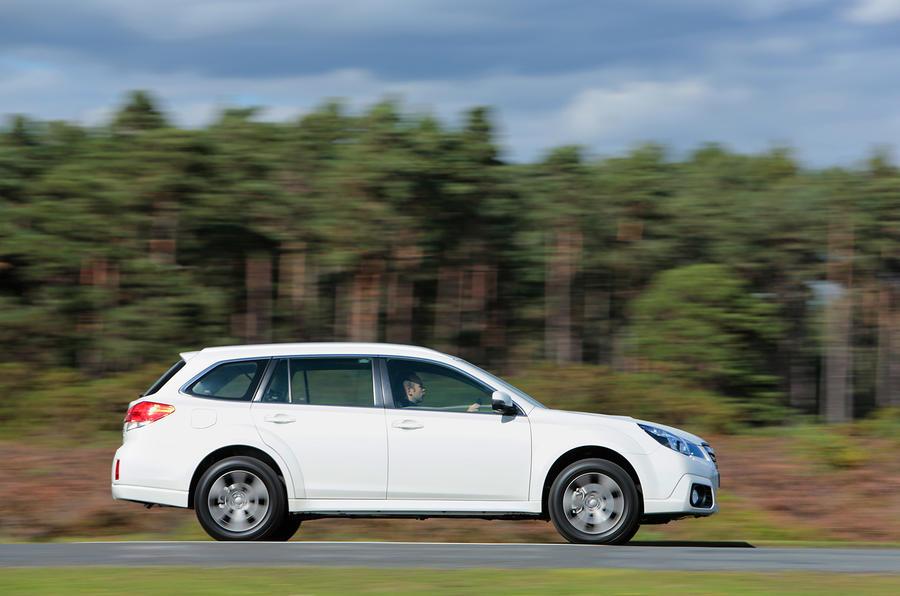 Subaru Outback side profile