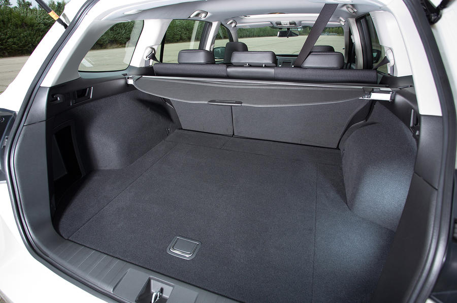 Subaru Outback boot space