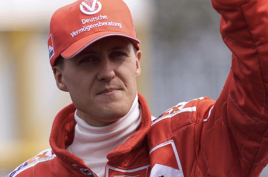 Here's hoping Michael Schumacher's luck can hold out