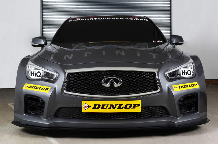 Infiniti to enter British Touring Car Championship in 2015