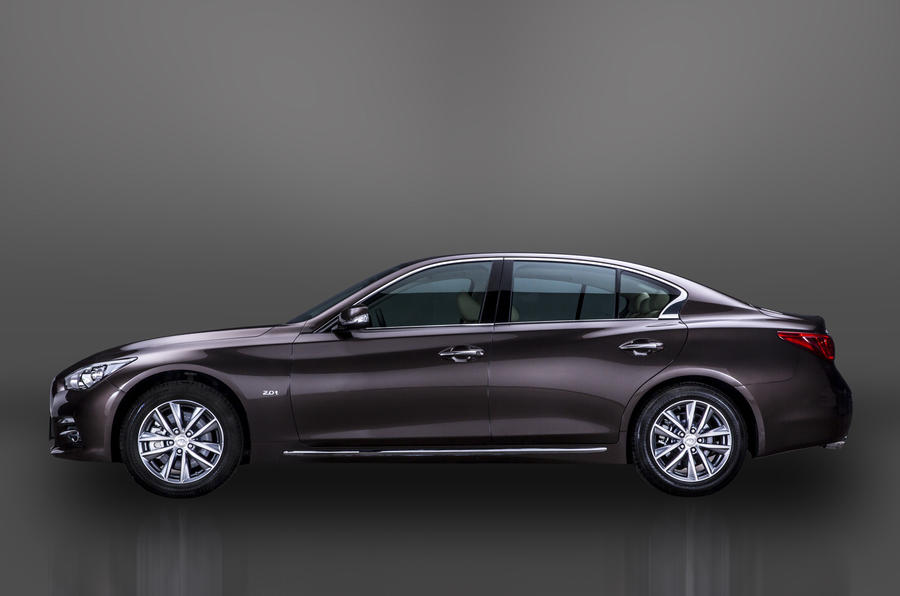 Infiniti reveals long-wheelbase version of the Q50