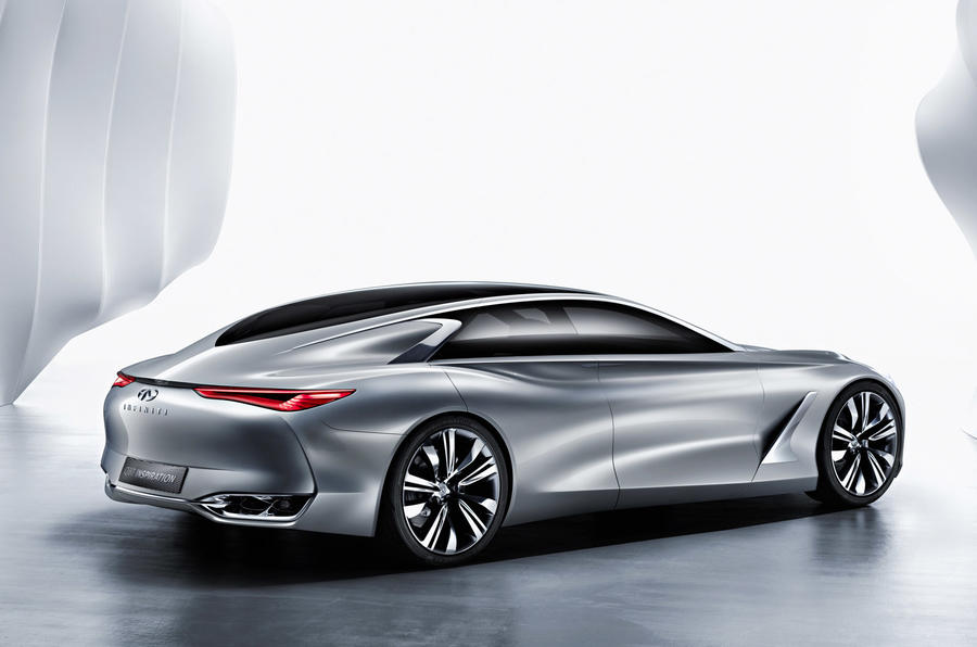 Infiniti Q80 Inspiration concept previews Porsche Panamera fighter
