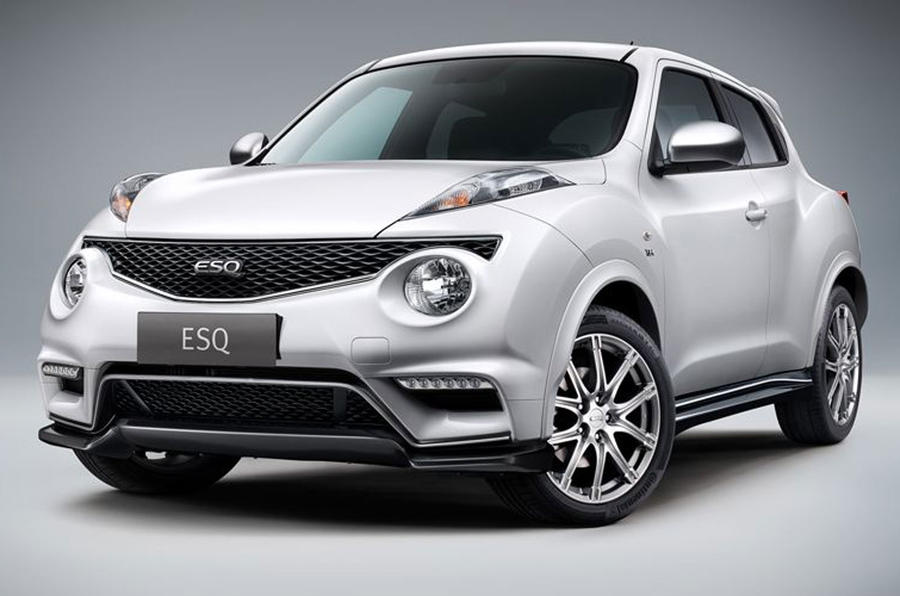 Infiniti ESQ revealed for Chinese market