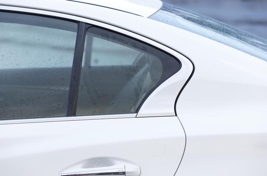 Infiniti Q50 rear door