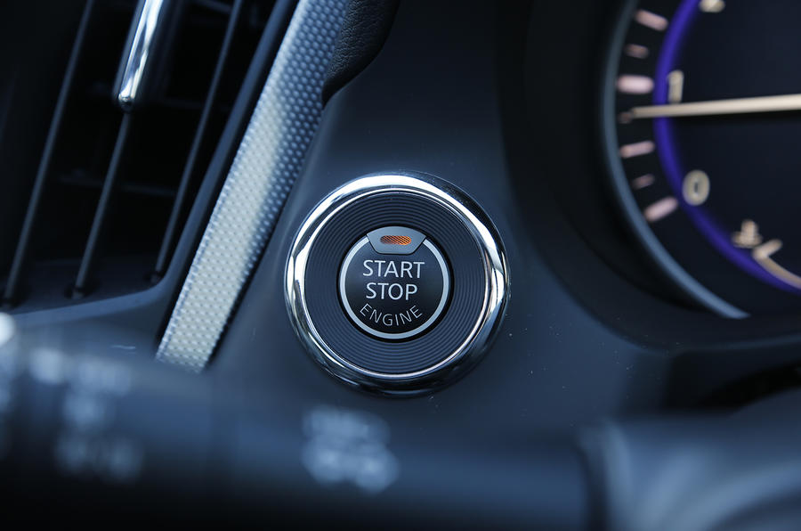 Infiniti Q50 ignition switch