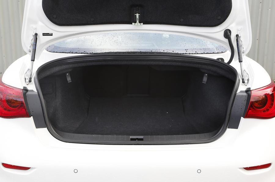 Infiniti Q50 boot space