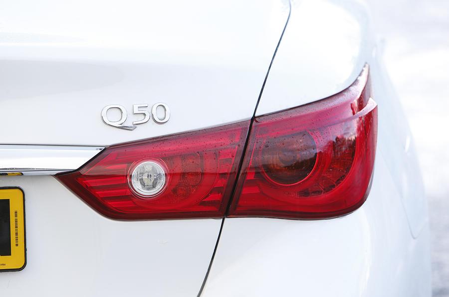 Infiniti Q50 rear light