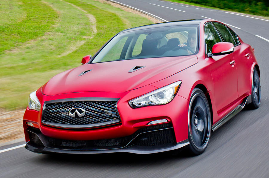Infiniti Q50 Eau Rouge prototype first drive