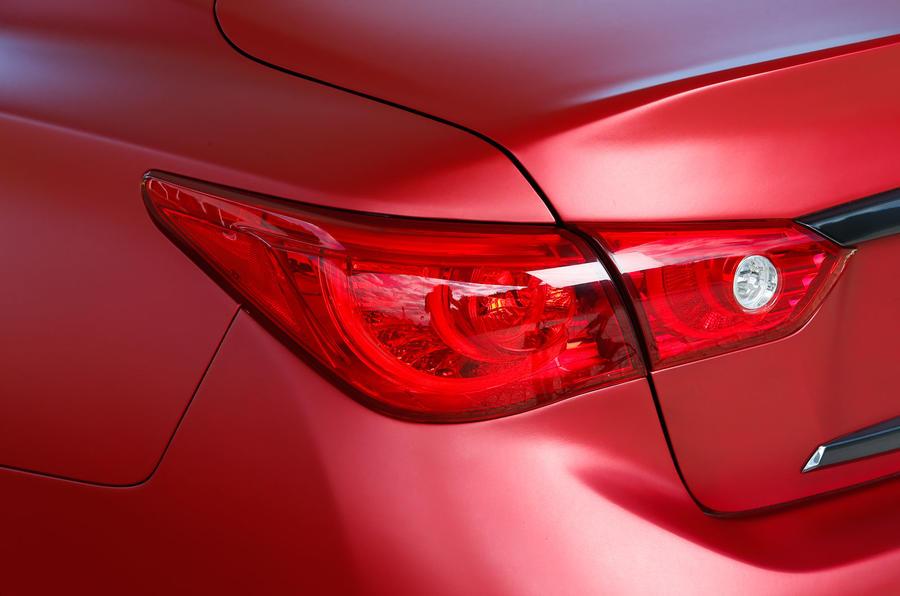 Infiniti Q50 Eau Rouge rear lights