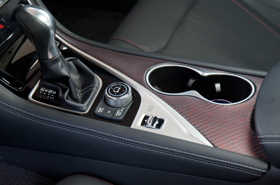 Infiniti Q50 Eau Rouge automatic gearbox