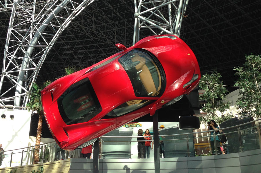 Inside Ferrari World Picture Special Autocar