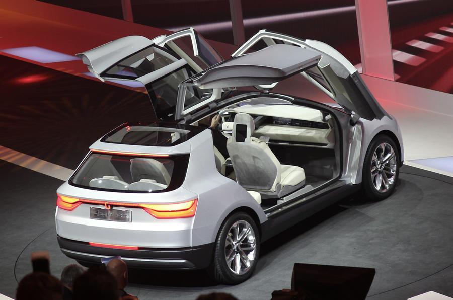 Giugiaro Clipper Electric MPV Unveiled Autocar