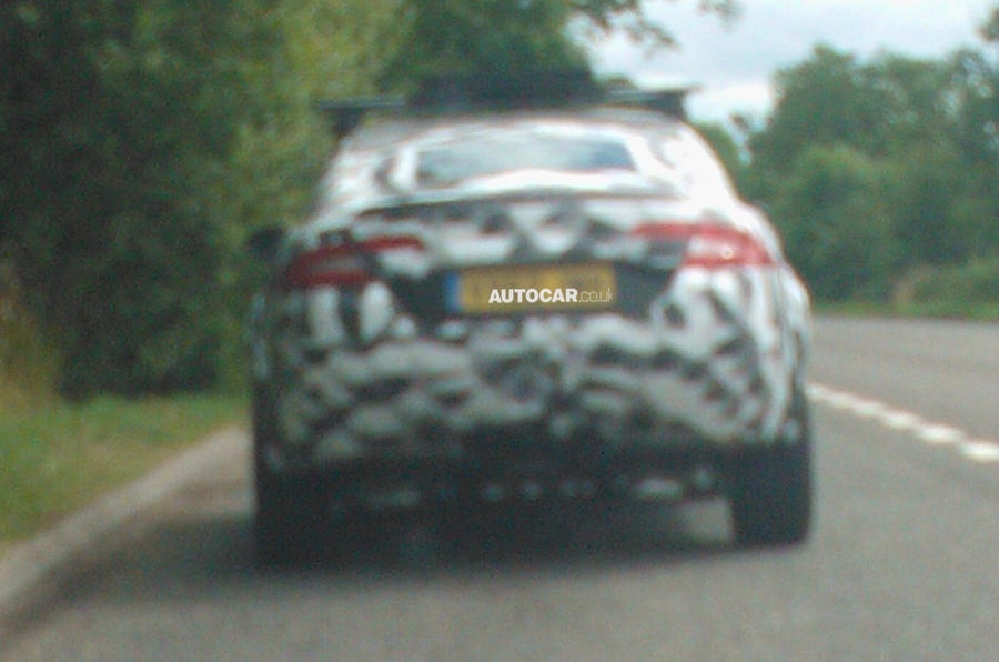 Jaguar SUV spotted - first picture