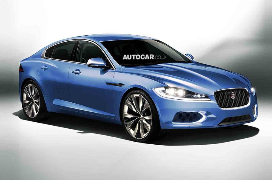 New baby Jaguar saloon design ready