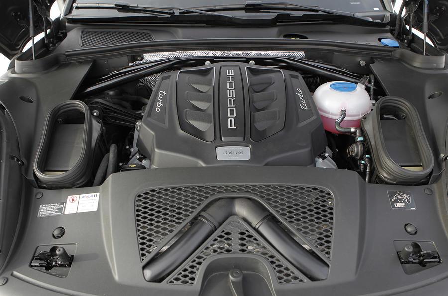 3.6-litre V6 Porsche Macan Turbo engine