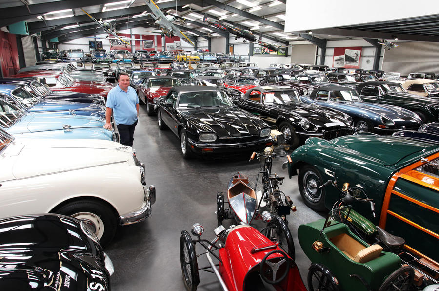 Jaguar acquires £100m James Hull collection of 543 British cars