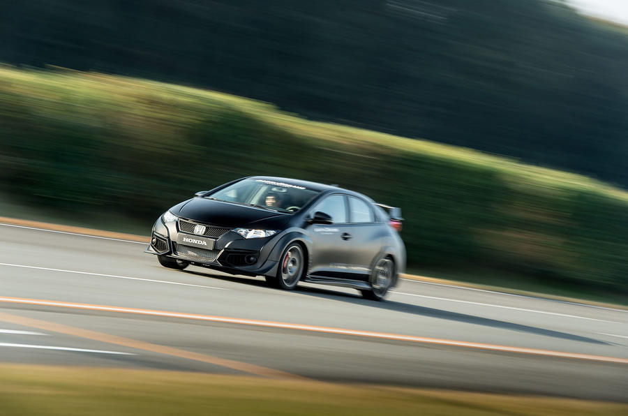 Honda Civic Type-R prototype first drive review