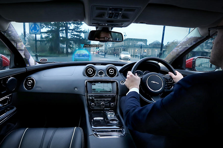 Land Rover previews transparent pillar technology