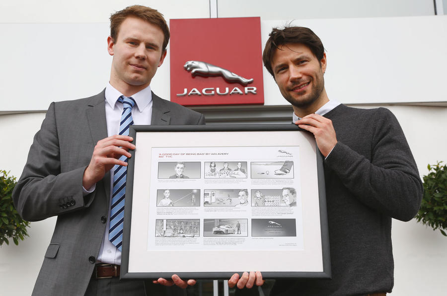 Jaguar gives our Good to be Bad winner a prize to remember