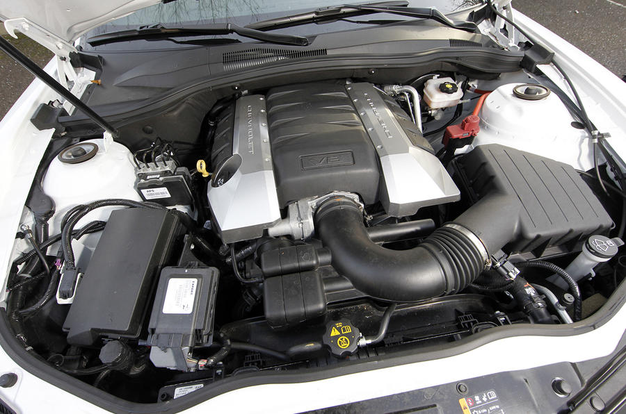6.2-litre V8 Chevrolet Camaro Coupe engine