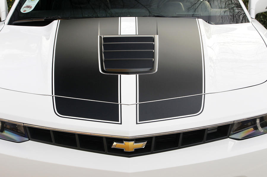 Chevrolet Camaro Coupe bonnet