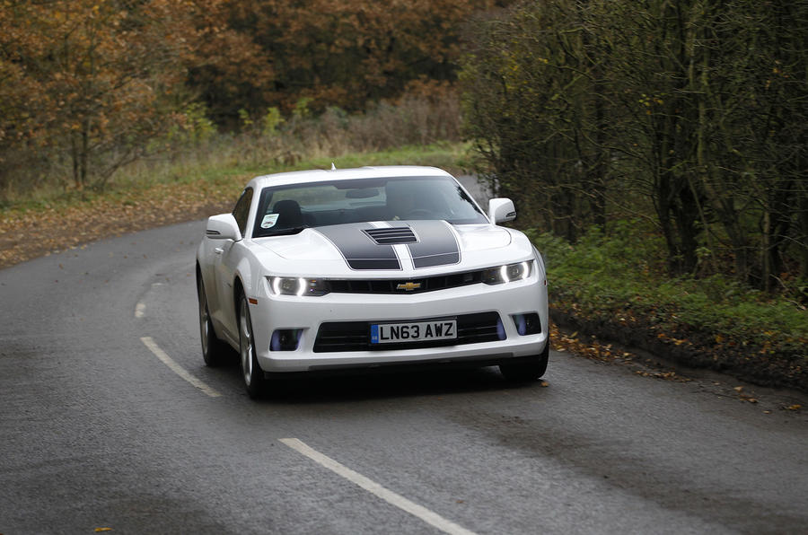 Chevrolet Camaro Coupe Automatic first drive review