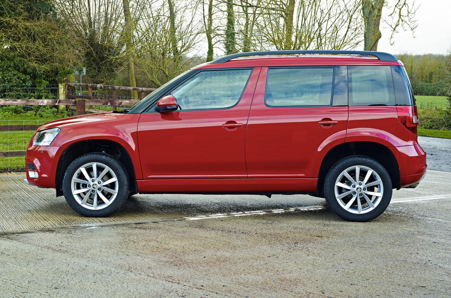 Skoda Yeti 1.2 TSI SE side profile