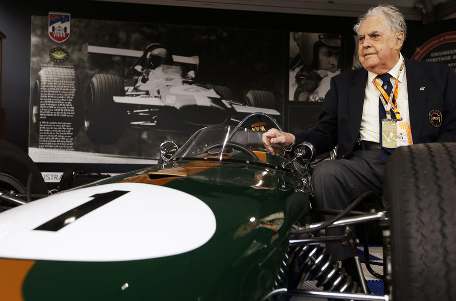 Three-time world champion Sir Jack Brabham dies