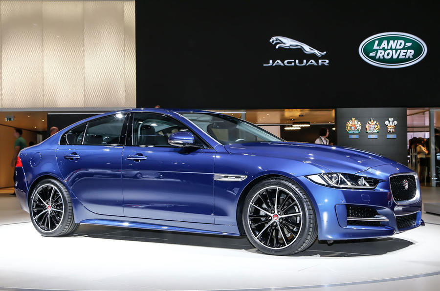 The XE might be Jaguar's star, but it didn't take the spotlight in Paris
