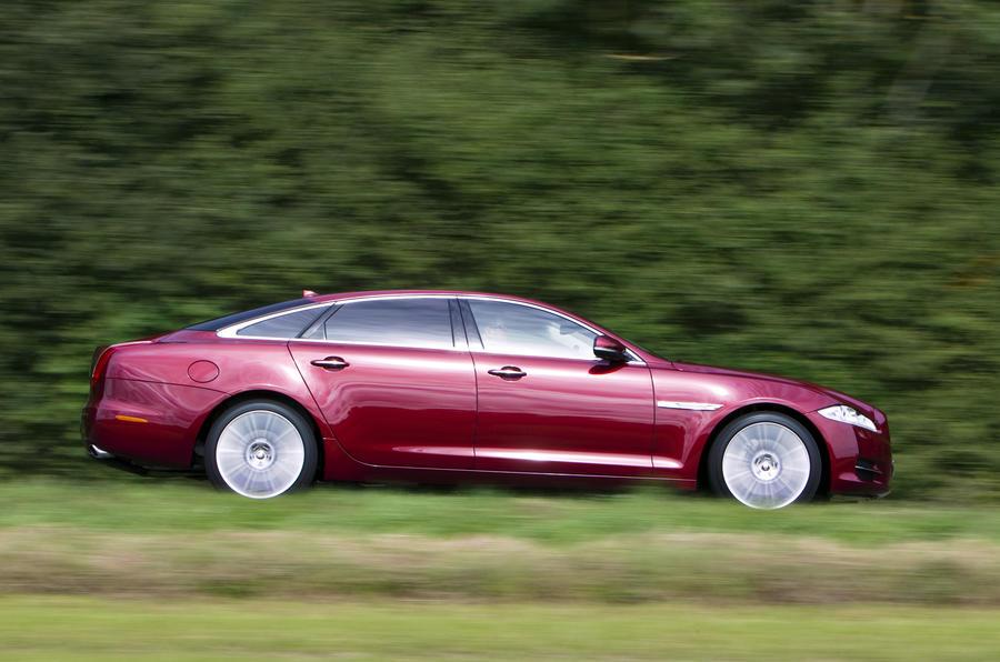 Jaguar XJ LWB side profile