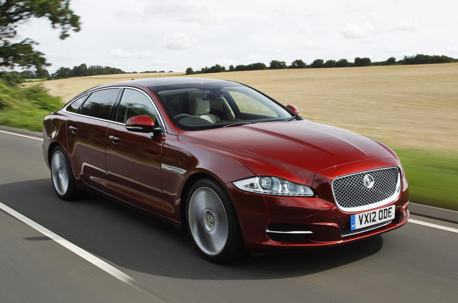 Jaguar XJ LWB front end