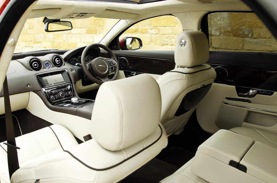 Jaguar XJ LWB interior