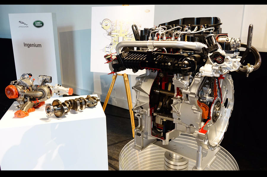 Jaguar Land Rover details efficient new Ingenium engine family