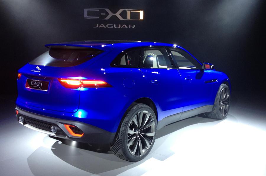 Jaguar C-X17 SUV revealed