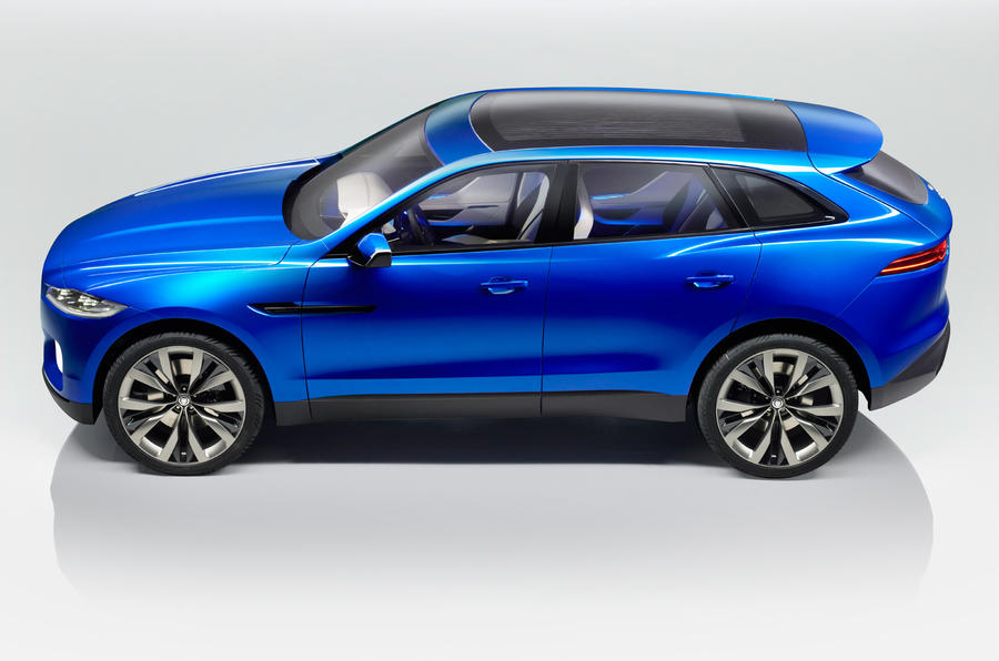 Jaguar C-X17 SUV revealed