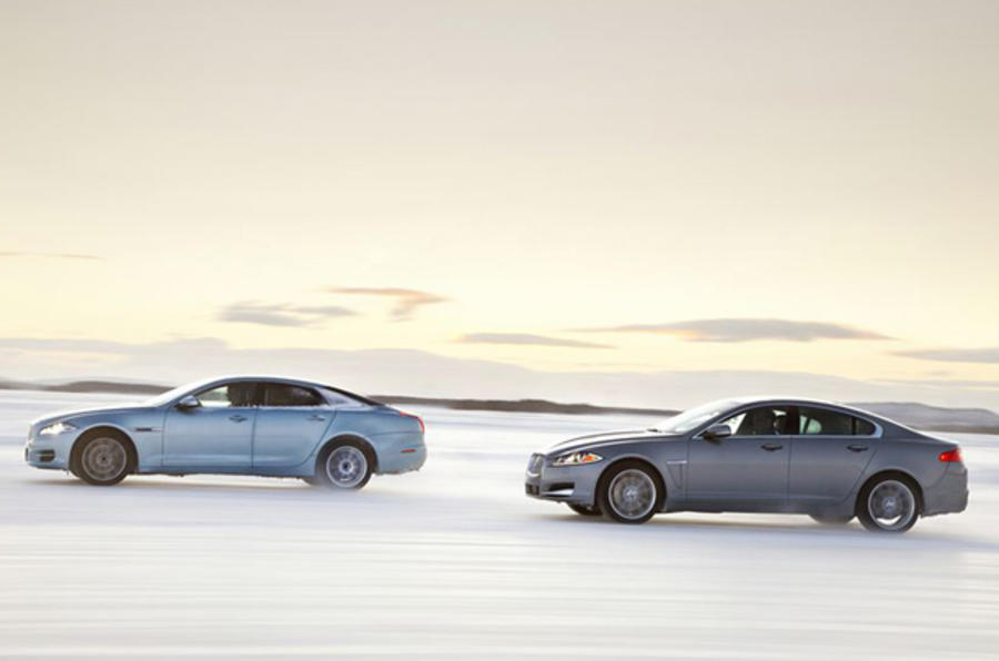 Jaguar XJ side profiles