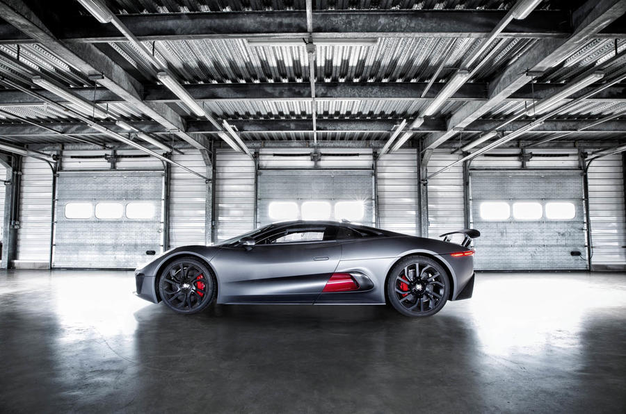 Jaguar C-X75 supercar to star in upcoming James Bond film Spectre