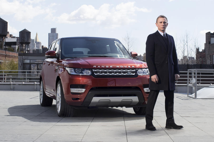 Why James Bond and the Range Rover Sport were the perfect fit