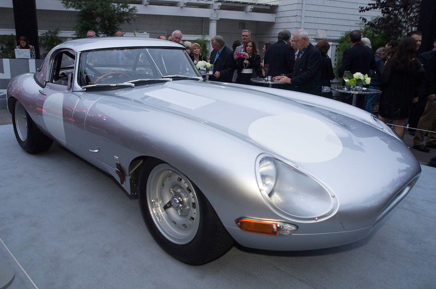 Jaguar reveals £1m Lightweight E-type
