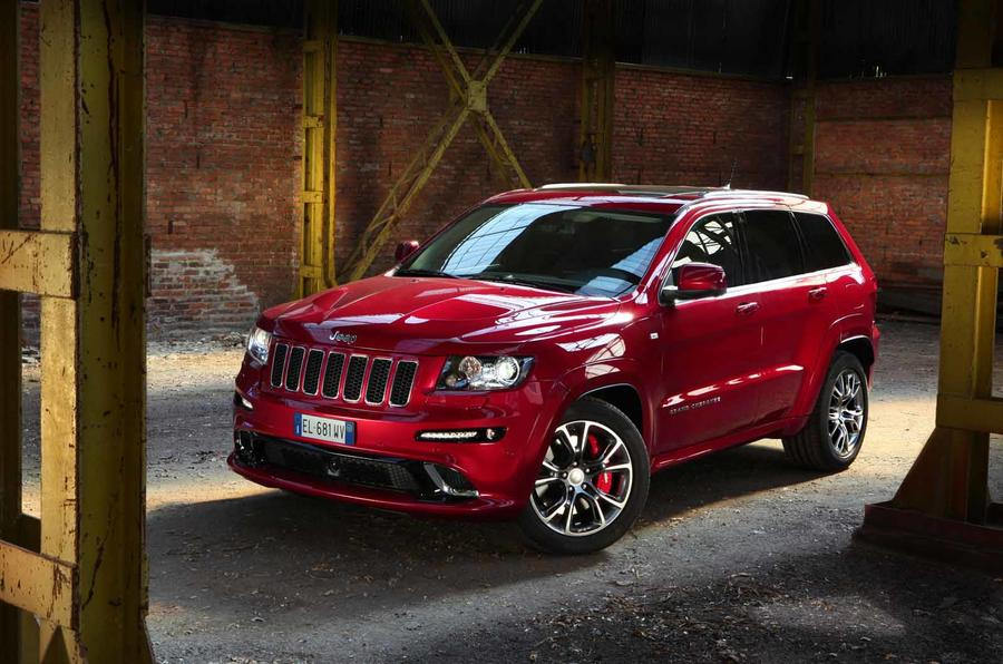 461bhp Jeep Grand Cherokee SRT