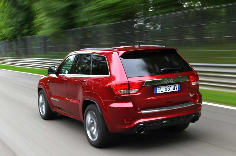 Jeep Grand Cherokee SRT rear