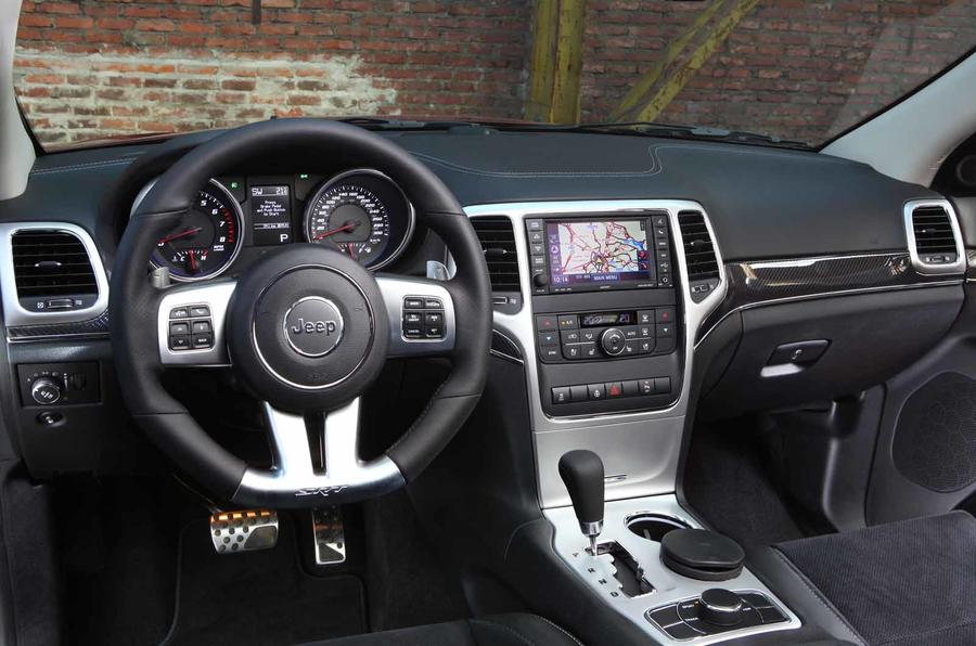 Jeep Grand Cherokee SRT dashboard