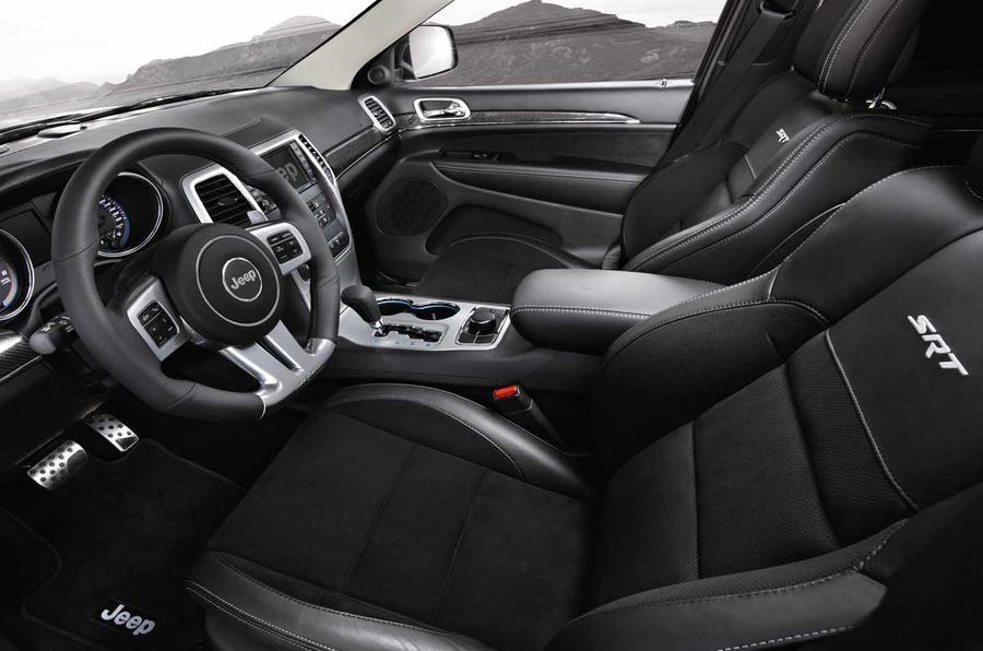 Jeep Grand Cherokee SRT interior