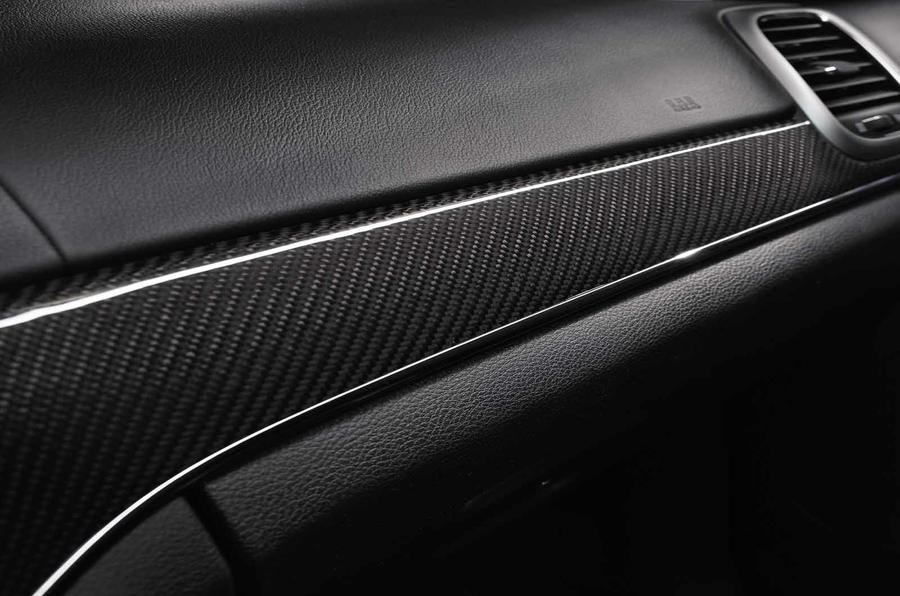Jeep Grand Cherokee SRT dashboard trim