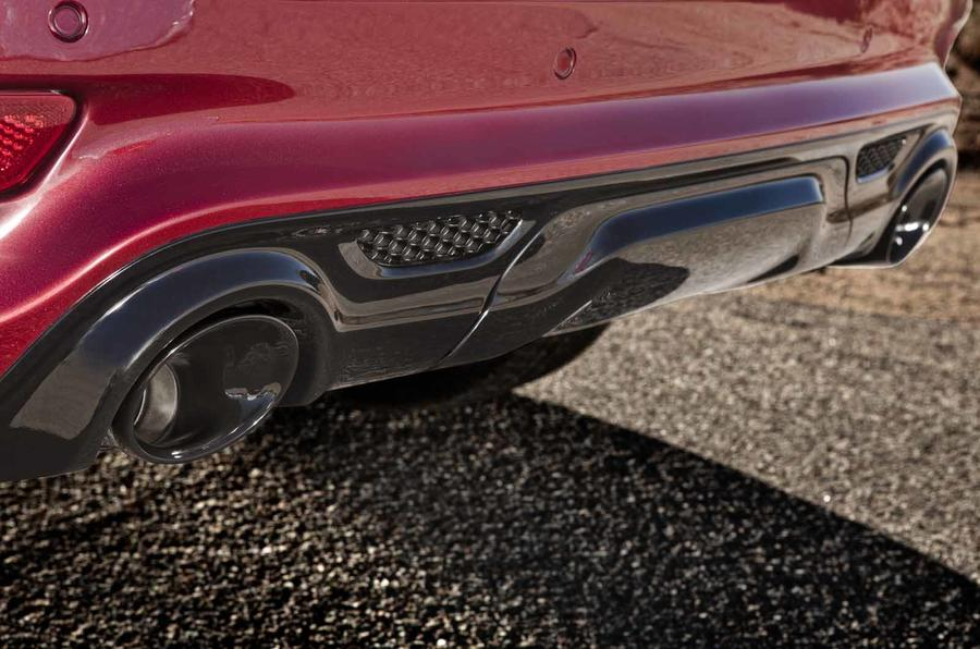 Jeep Grand Cherokee SRT rear diffuser