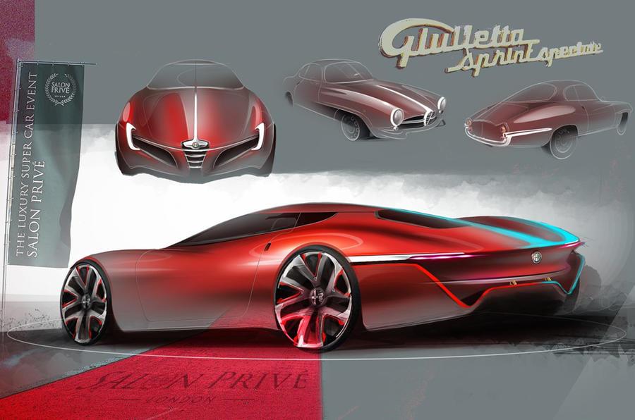 Design students re-envision motoring classics for Salon Privé
