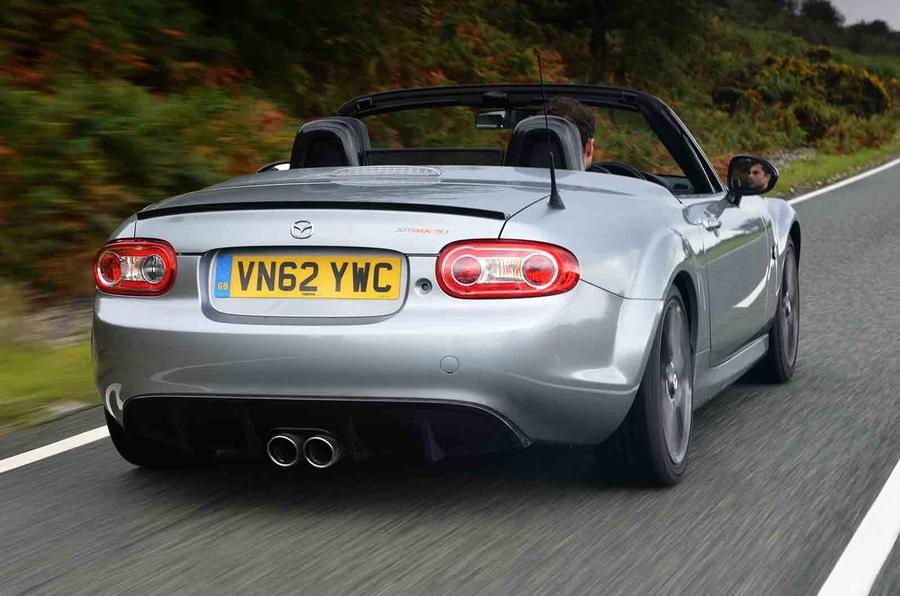 Jota Mazda MX-5 GT rear