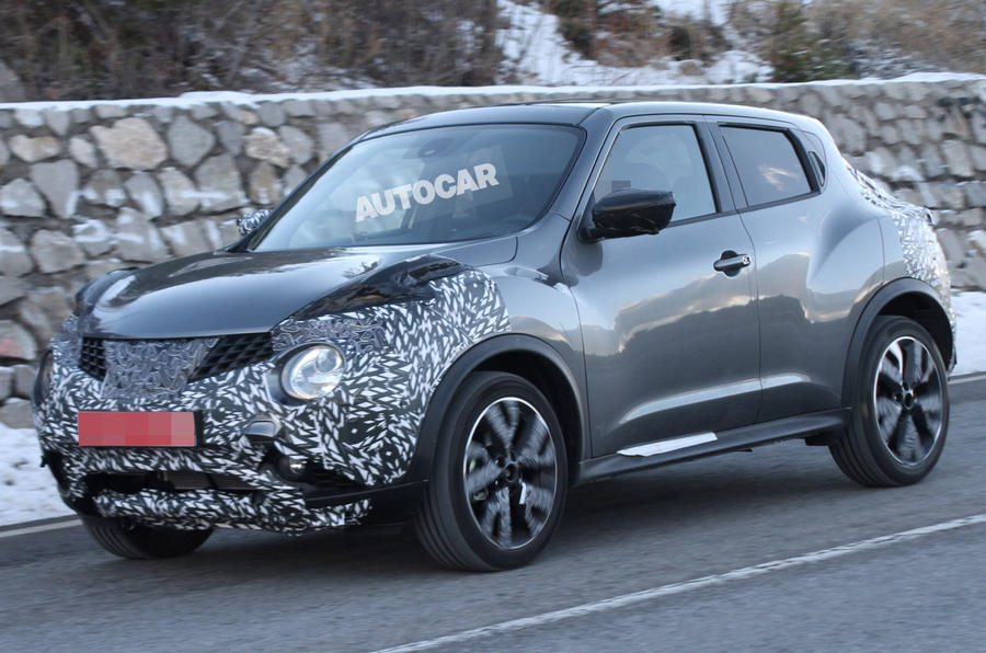 Nissan to facelifted Juke in Paris