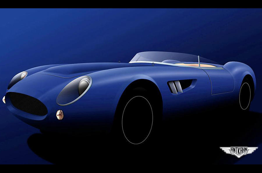 New Ant-Kahn sports car to be revealed at Goodwood Revival